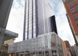 New time-lapse footage showcases construction work on the Grand Central Hotel