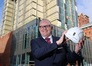 Stephen Meldrum has been announced as the General Manager of the Grand Central Hotel Belfast
