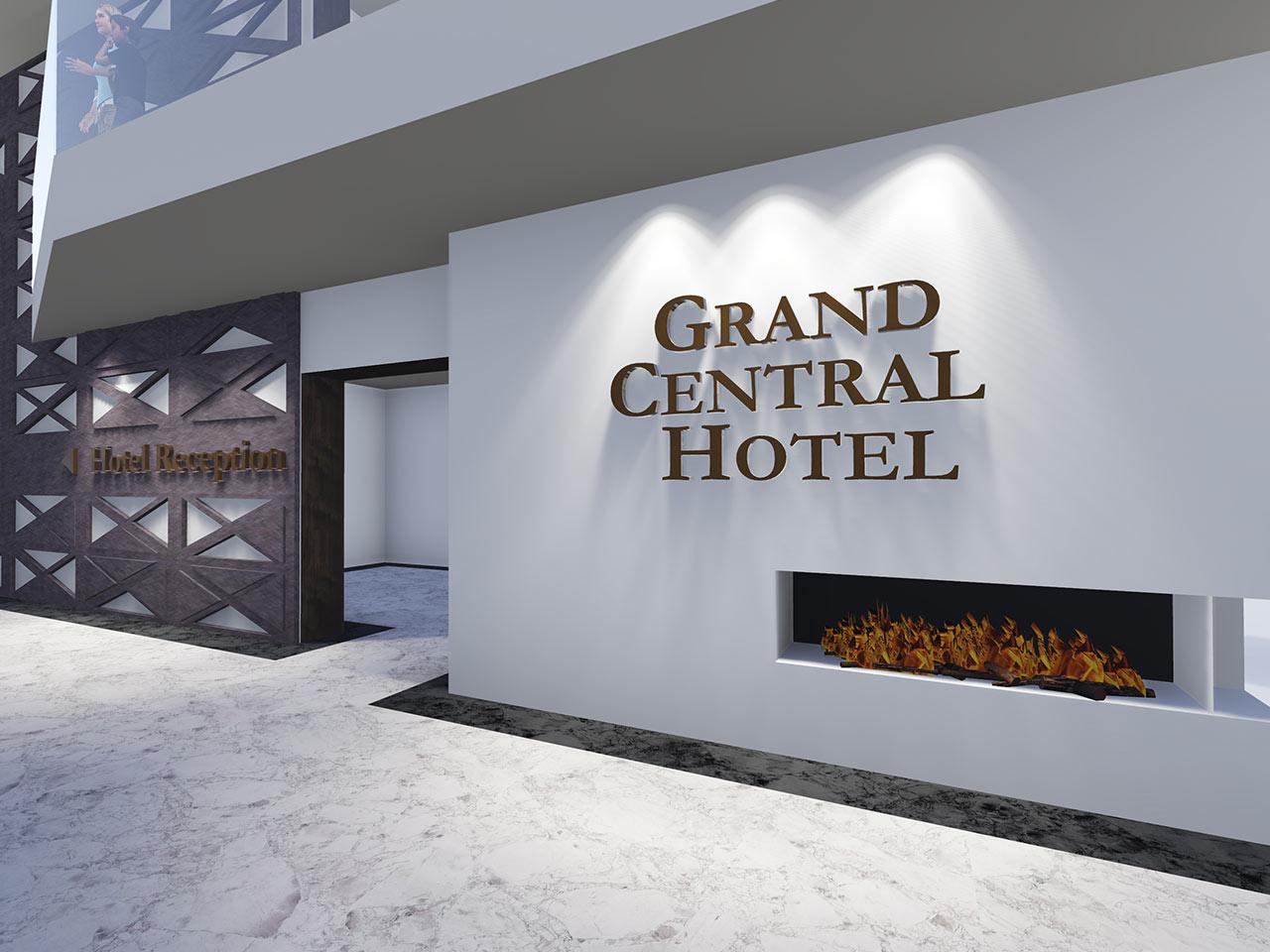 grand central hotel. Black Bedroom Furniture Sets. Home Design Ideas