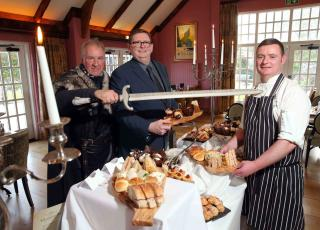 The new Game of Thrones Afternoon Tea at Ballygally Castle