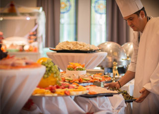 Sunday Buffet Lunch will be served in our Grand Ballroom beginning Sunday 25th February 2018