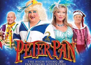 Peter Pan at the Grand Opera House December 2017